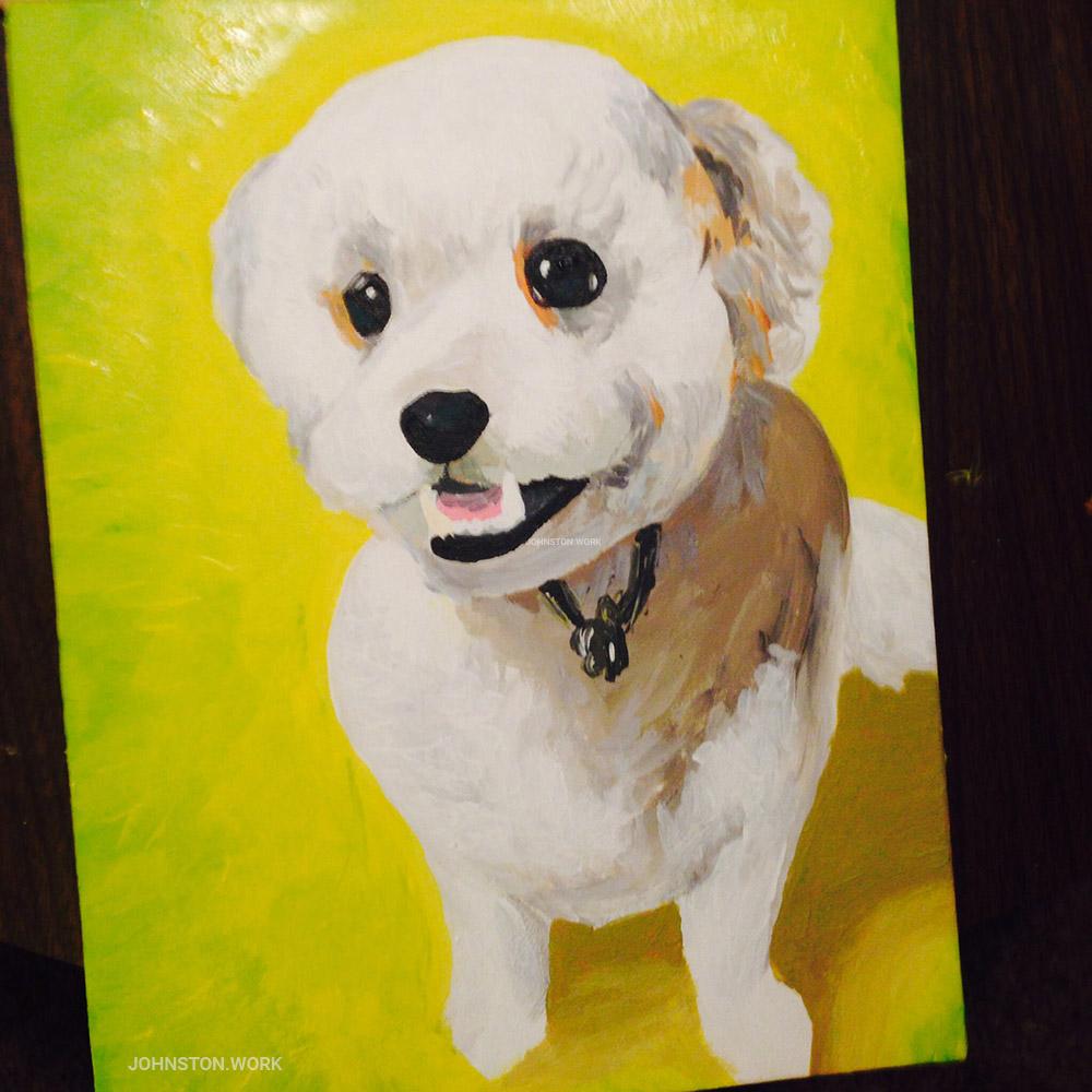 Baker Dog Portrait